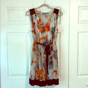 Cute Simply Vera Wang Floral dress